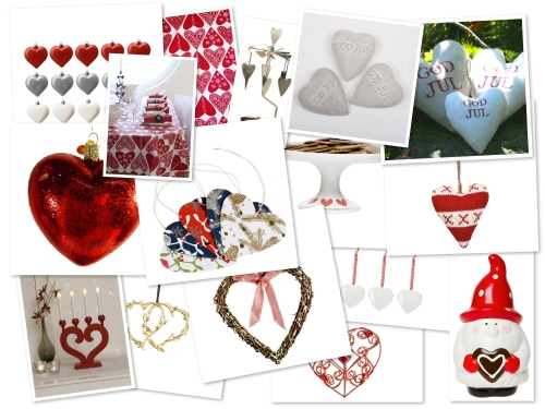Hjärtan i årets julpyntsförsäljning