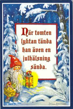 Julkort med felaktig verbböjning
